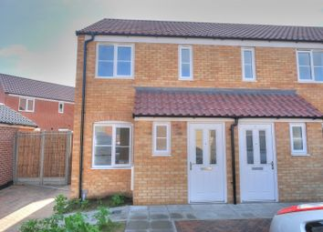 Thumbnail 2 bedroom end terrace house for sale in Bobolink Row, Sprowston
