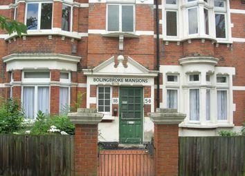 Thumbnail 3 bed flat to rent in Bolingbroke Grove, Battersea