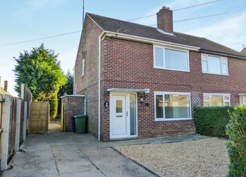 Thumbnail 2 bedroom semi-detached house for sale in St Leonards Road, Leverington, Wisbech