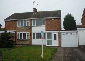 Thumbnail 3 bedroom semi-detached house to rent in Wood Avenue, Cannock