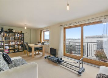Thumbnail 2 bed flat for sale in Burford Wharf Apartments, 3 Cam Road, London