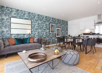 Thumbnail 2 bed flat for sale in Southall Village, Canalside, London