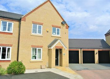 Thumbnail 3 bed semi-detached house for sale in Bath Close, Bourne, Lincolnshire
