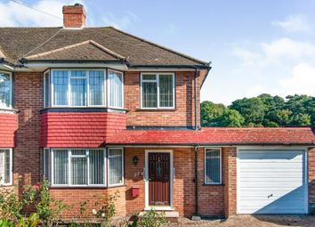 Thumbnail 4 bed semi-detached house for sale in Chestnut Grove, South Croydon, Surrey