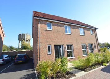 Thumbnail 3 bed semi-detached house for sale in Rowan Gardens, Mill Road, Hethersett, Norwich