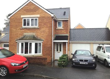 Thumbnail 3 bed detached house for sale in Heol Iscoed, Swansea