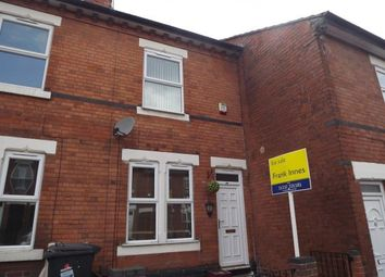Thumbnail 2 bedroom terraced house for sale in Sackville Street, Derby, Derbyshire