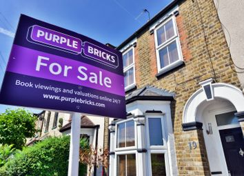 Thumbnail 3 bed terraced house for sale in Layard Road, Enfield