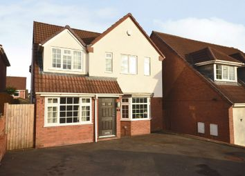 Thumbnail 4 bed detached house for sale in Aston Road, Waterhayes, Newcastle-Under-Lyme
