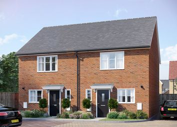 Thumbnail 2 bed semi-detached house for sale in The Ashdown, Westwood, Gardiners Park Village
