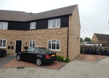 Thumbnail 2 bedroom flat to rent in Weir Cottage Close, Eaton Ford, St Neots
