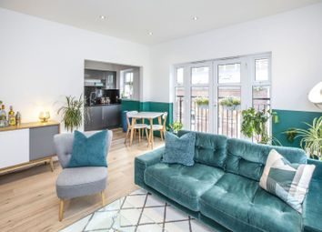 Thumbnail 2 bed flat for sale in 6 Woolwich Manor Way, London