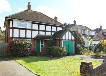 Thumbnail 4 bed detached house for sale in Pyrford, Woking, Surrey