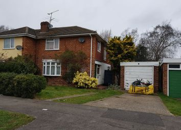 Thumbnail 3 bed semi-detached house for sale in Malone Road, Woodley, Reading