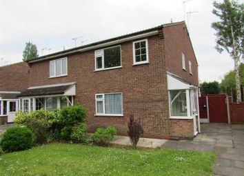 Thumbnail 1 bed semi-detached house to rent in Penney Close, Wigston