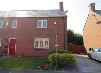 Thumbnail 3 bed town house for sale in Sherwood Court, Long Whatton, Loughborough