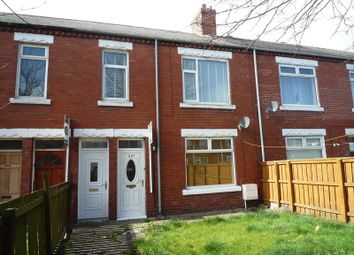 Thumbnail 2 bed flat for sale in Hawthorn Road, Ashington