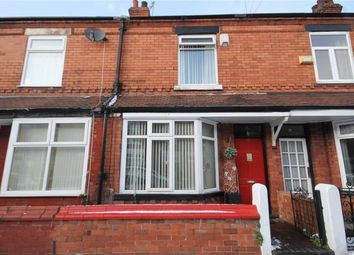 Thumbnail 2 bed terraced house for sale in Harrison Avenue, Levenshulme, Manchester