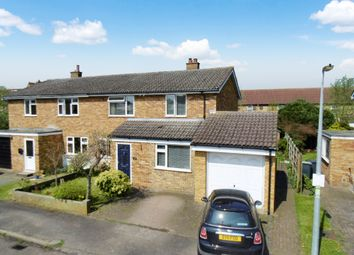 Thumbnail 4 bed semi-detached house for sale in Glebe Close, Sandy