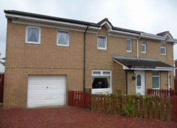 Thumbnail 4 bed semi-detached house for sale in Strathpeffer Crescent, Airdrie
