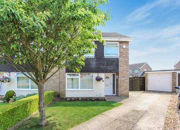 Thumbnail 3 bed semi-detached house for sale in Newnham Close, Hartford, Huntingdon