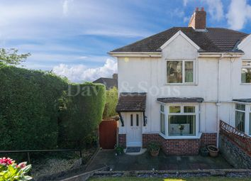 Thumbnail 2 bed semi-detached house for sale in Fernlea, Risca, Newport.