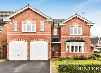 Thumbnail 4 bed detached house for sale in Strother Close, Pocklington, York