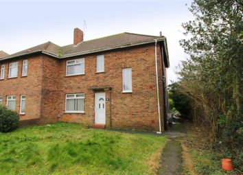 Thumbnail 3 bed semi-detached house for sale in Summersdeane, Southwick, Brighton