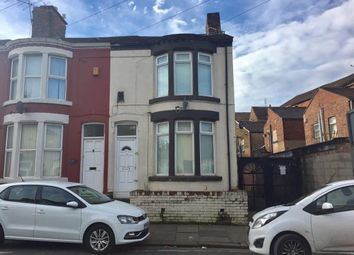 Thumbnail 3 bed end terrace house for sale in Waltham Road, Anfield, Liverpool