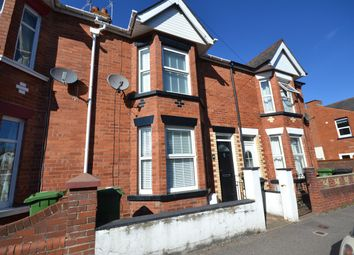 Thumbnail 3 bed terraced house to rent in Powderham Road, Exeter, Devon