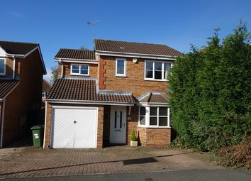 Thumbnail 3 bed detached house for sale in Normandy Close, Glenfield, Leicester