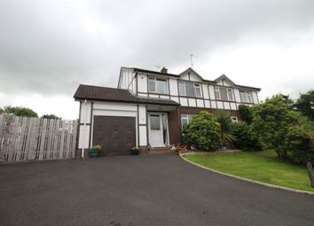 Thumbnail 3 bed semi-detached house for sale in Eglantine Park, Culcavy, Hillsborough