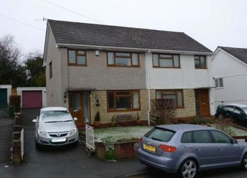 Thumbnail 3 bed semi-detached house to rent in Lansdowne, Sebastopol, Pontypool