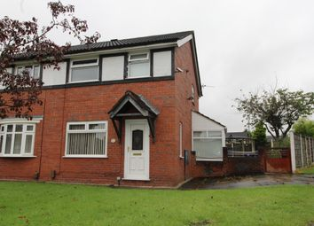 Thumbnail 3 bed semi-detached house for sale in Weavers Green, Farnworth