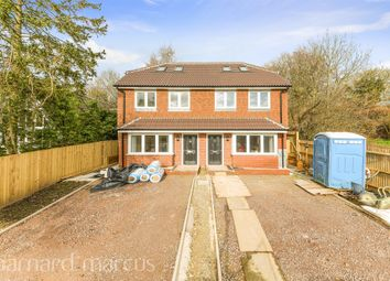 Thumbnail 4 bedroom semi-detached house for sale in Downsview, Rosebery Road, Epsom