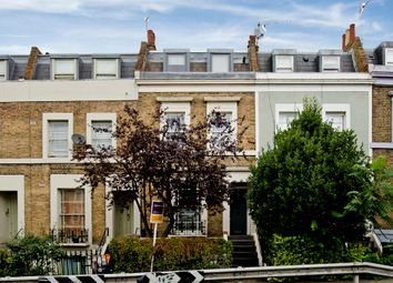 Thumbnail 4 bedroom terraced house to rent in Leighton Road, London