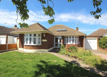 Thumbnail 2 bedroom detached bungalow for sale in Chelsworth Crescent, Southend-On-Sea