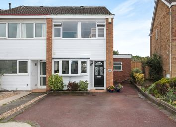 Thumbnail 5 bed end terrace house for sale in Freemantle Road, Rugby