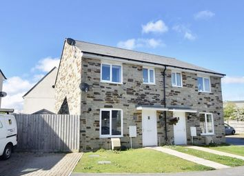 Thumbnail 3 bed semi-detached house for sale in Kingston Way, Mabe Burnthouse, Penryn