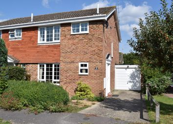 Thumbnail 3 bed semi-detached house for sale in Staple Drive, Staplehurst, Tonbridge