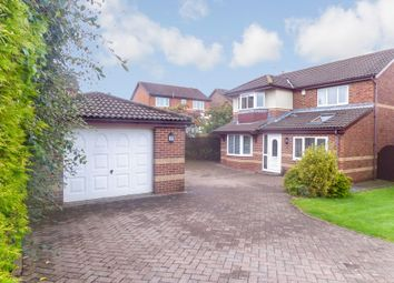 Thumbnail 4 bed detached house for sale in Barnard Close, Bedlington