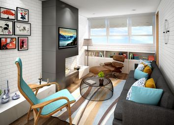 Thumbnail 2 bed flat for sale in Union Street, The Wirral