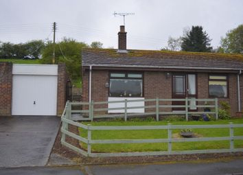 Thumbnail 2 bed semi-detached bungalow for sale in Marmion View, Norham, Berwick-Upon-Tweed