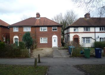 Thumbnail 4 bed semi-detached house to rent in Gipsy Lane, Headington, Oxford