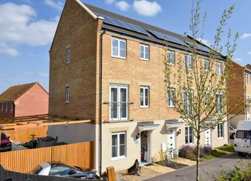 Thumbnail 4 bed town house for sale in Shipton Grove, Peterborough