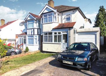 Thumbnail 3 bed semi-detached house to rent in York Road, Northwood