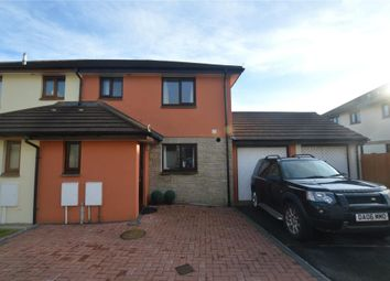 Thumbnail 3 bed semi-detached house for sale in Treveth Lane, Helston, Cornwall