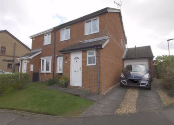 Thumbnail 3 bed semi-detached house for sale in Plaistow Way, Cramlington