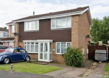 Thumbnail 2 bed semi-detached house for sale in Watson Close, Rugeley