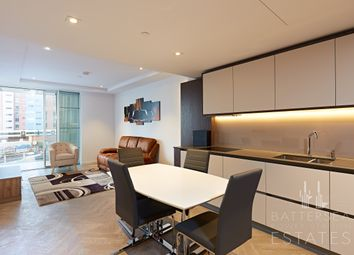 Thumbnail 1 bed flat to rent in Circus Road West, Battersea Power Station, London
